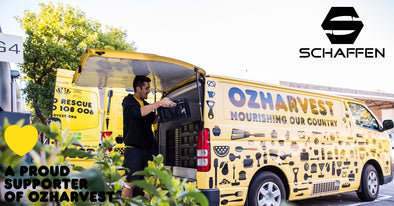 Schaffen Partners With OzHarvest