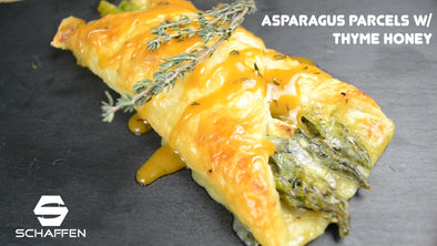Asparagus Parcels with Thyme Honey