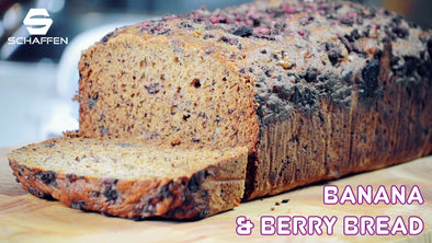Banana & Berry Bread