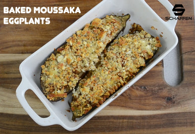 Baked Moussaka Eggplants