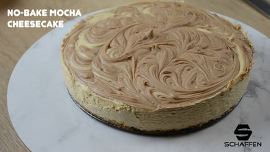 No-Bake Mocha Cheesecake