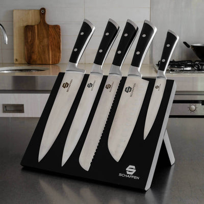 Schaffen 6pc Knife Block Set
