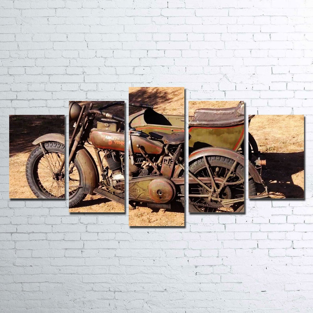 Harley Davidson 1919 5pc Canvas Set