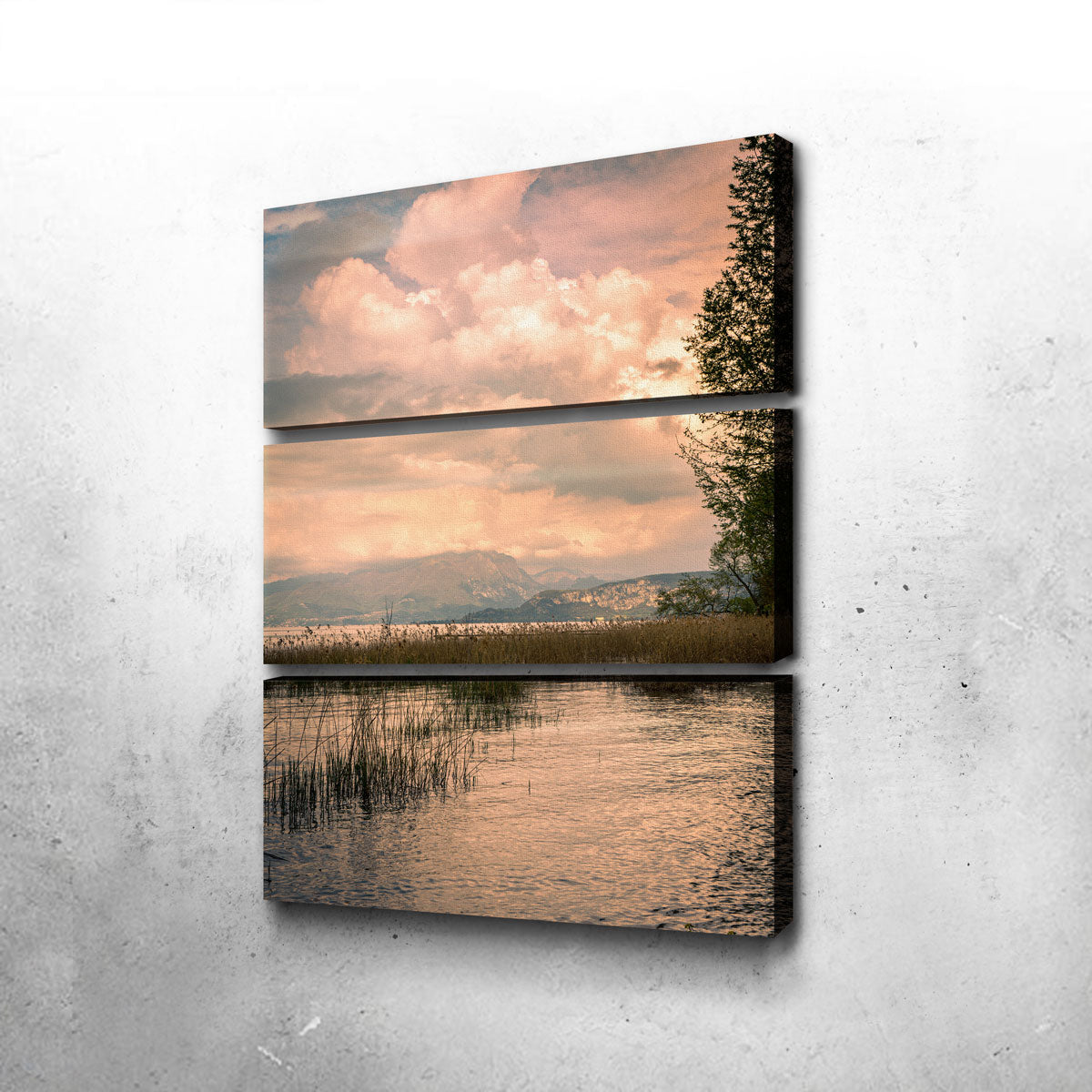 A Painting From A Lake