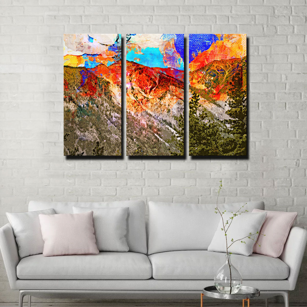 Abstract Antero Canvas Set