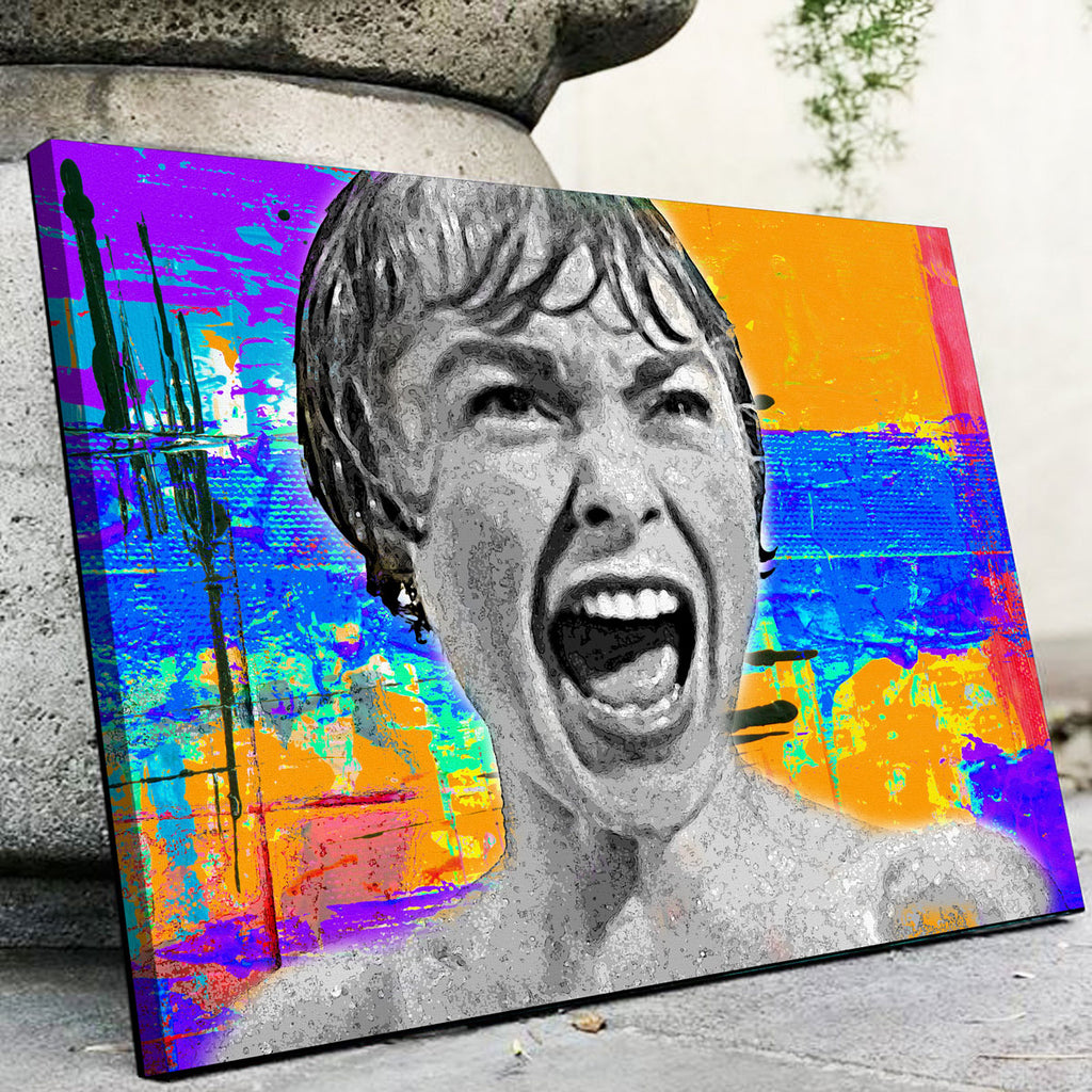 Abstract Psycho Canvas Set