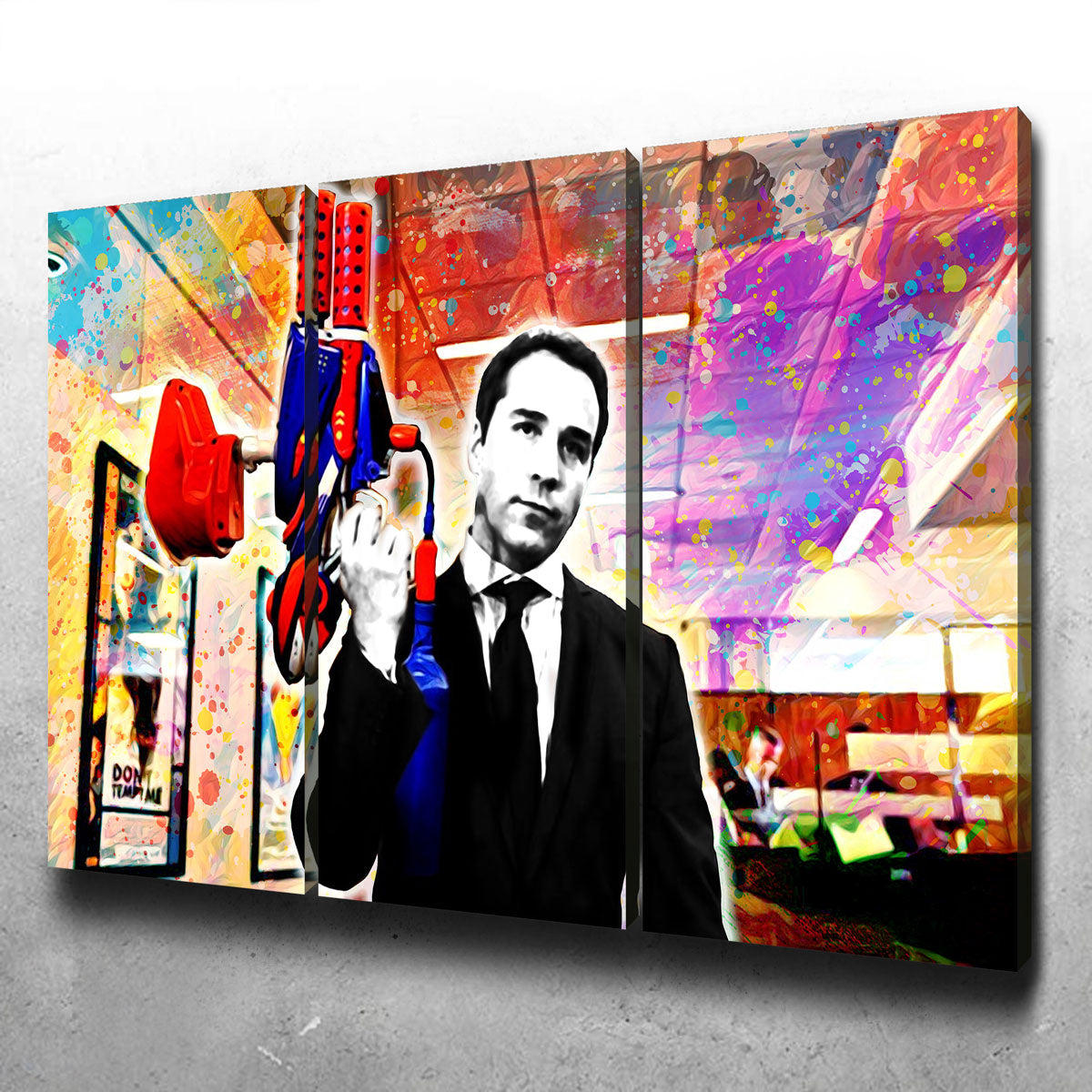 Ari Gold Canvas Set