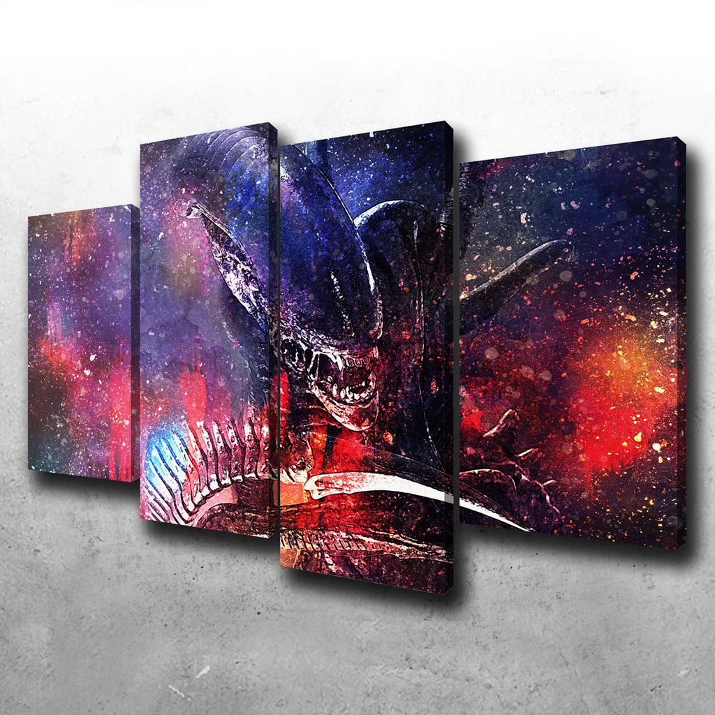 Alien Canvas Set