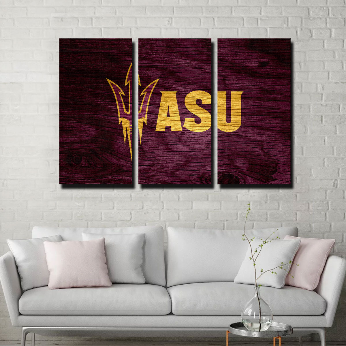 Arizona State Canvas Set