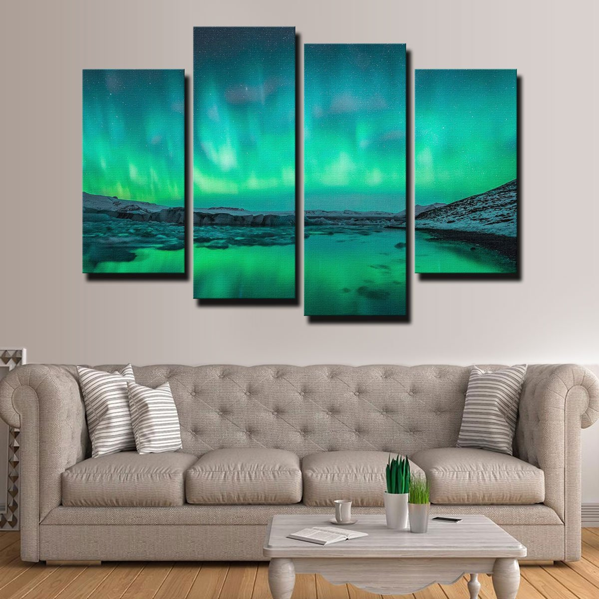 Northern Lights Canvas Set