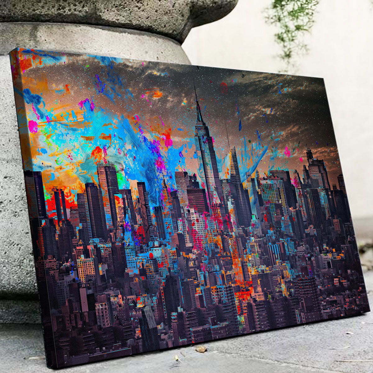 The Big Apple Canvas Set
