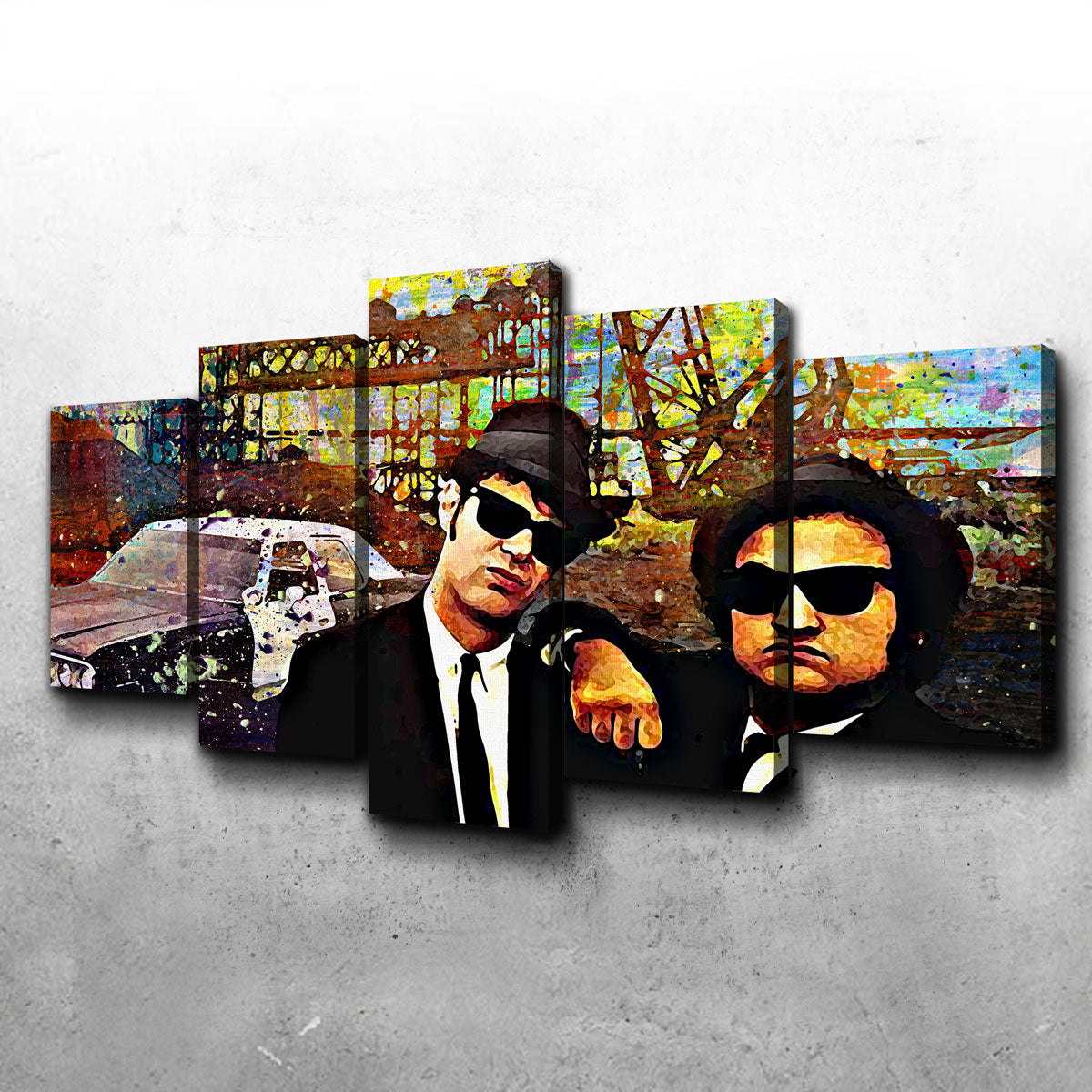 Blues Brothers Canvas Set