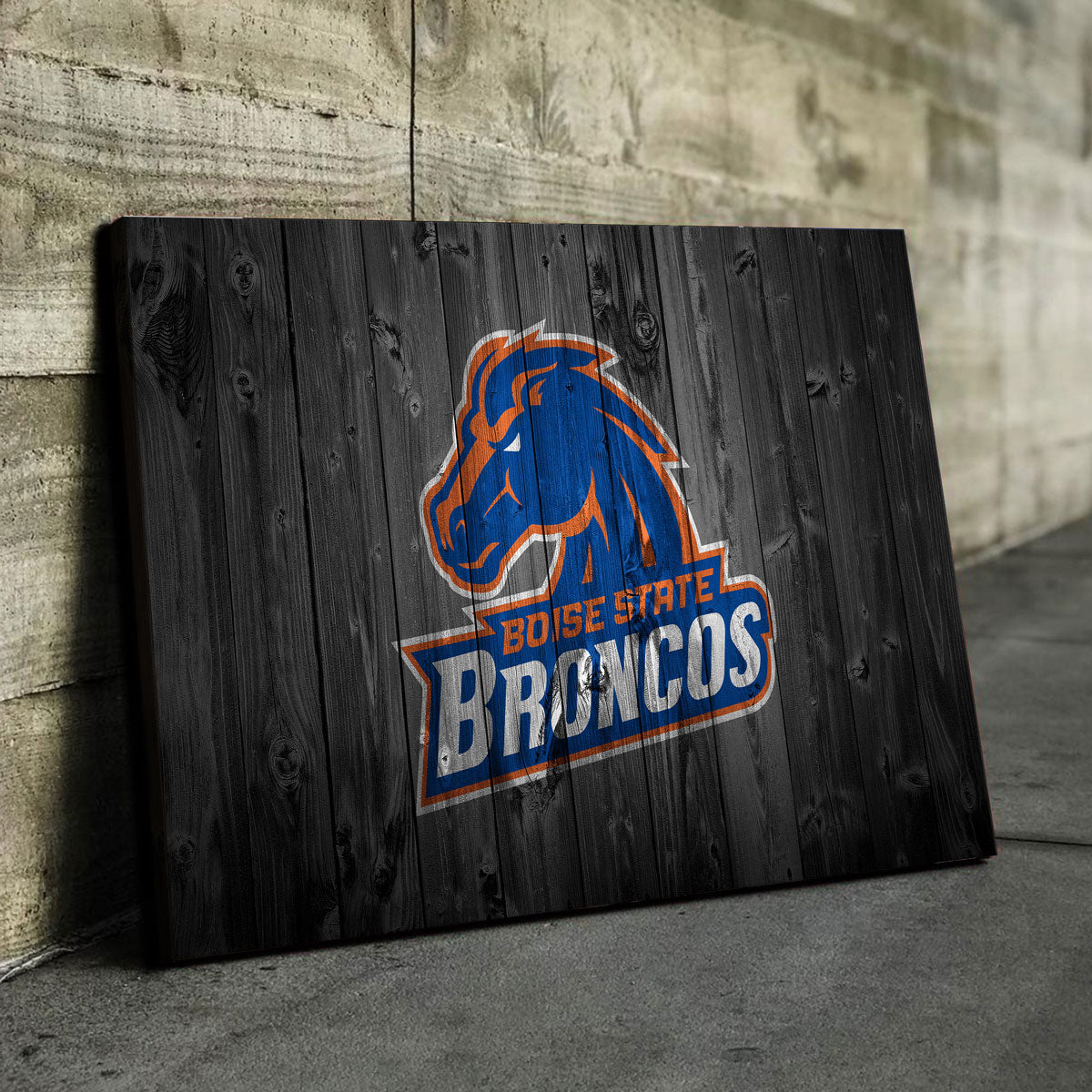 Boise State Canvas Set