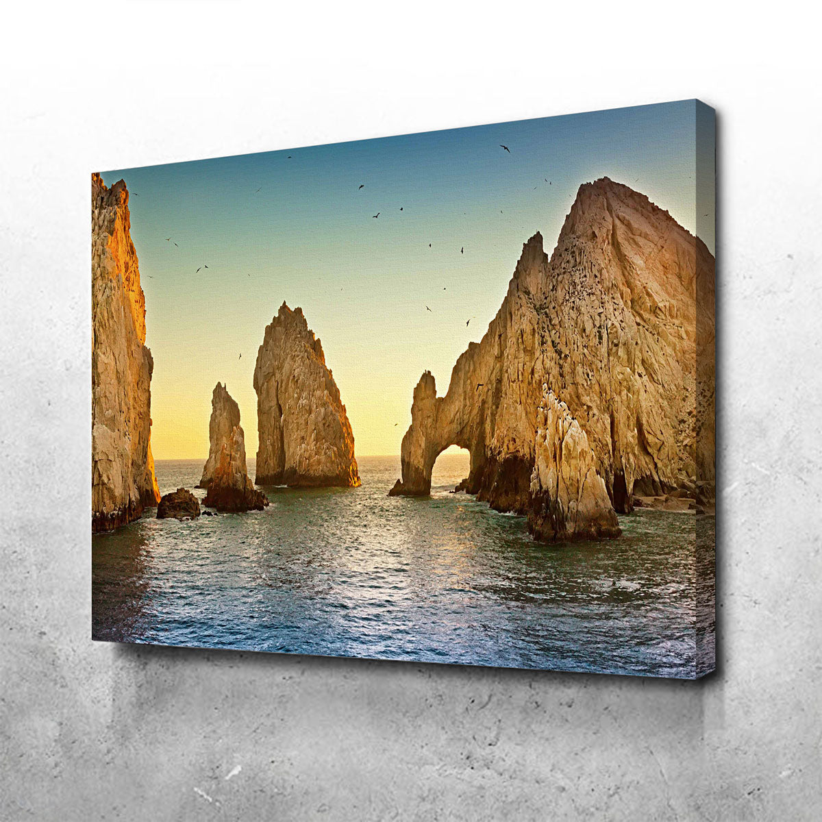 The Arch of Cabo San Lucas Canvas Set