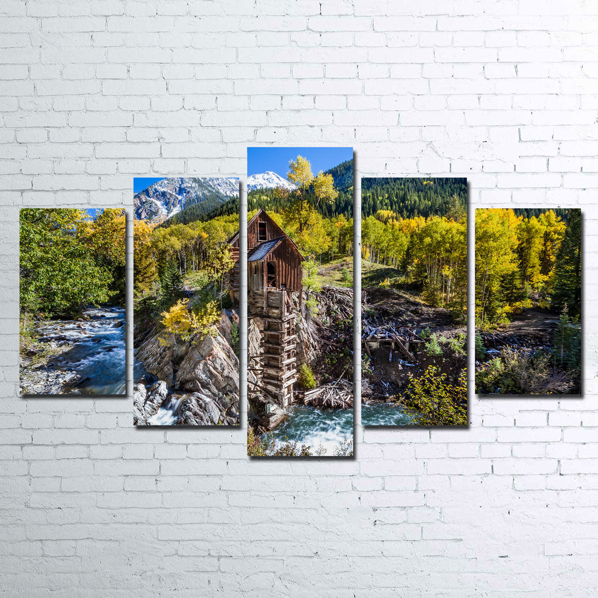 Crystal Mill Canvas Set