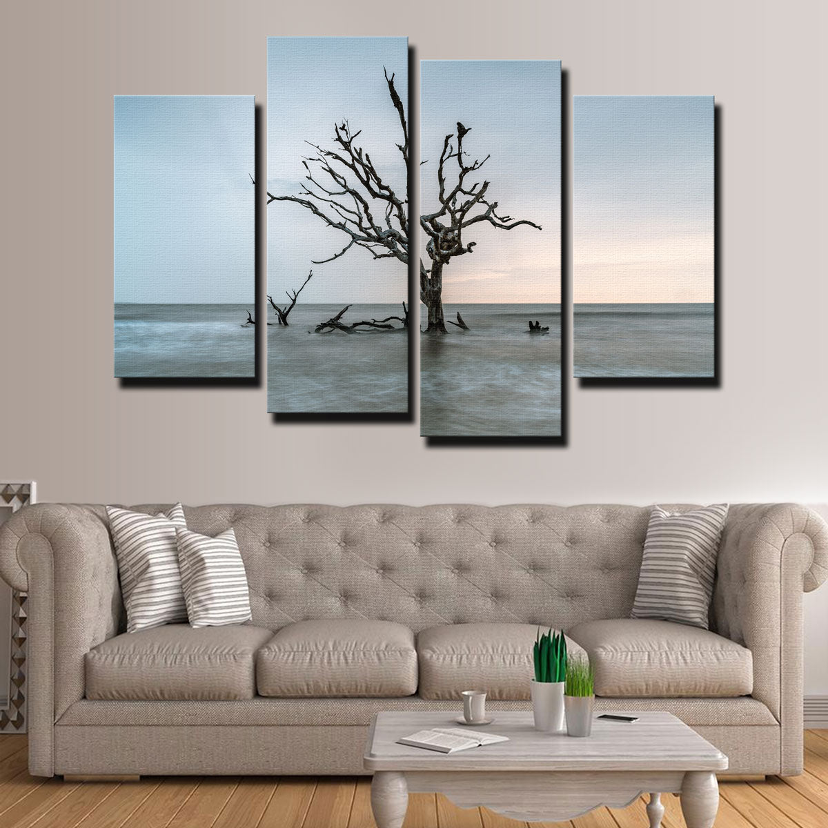 Salt Tree Canvas Set