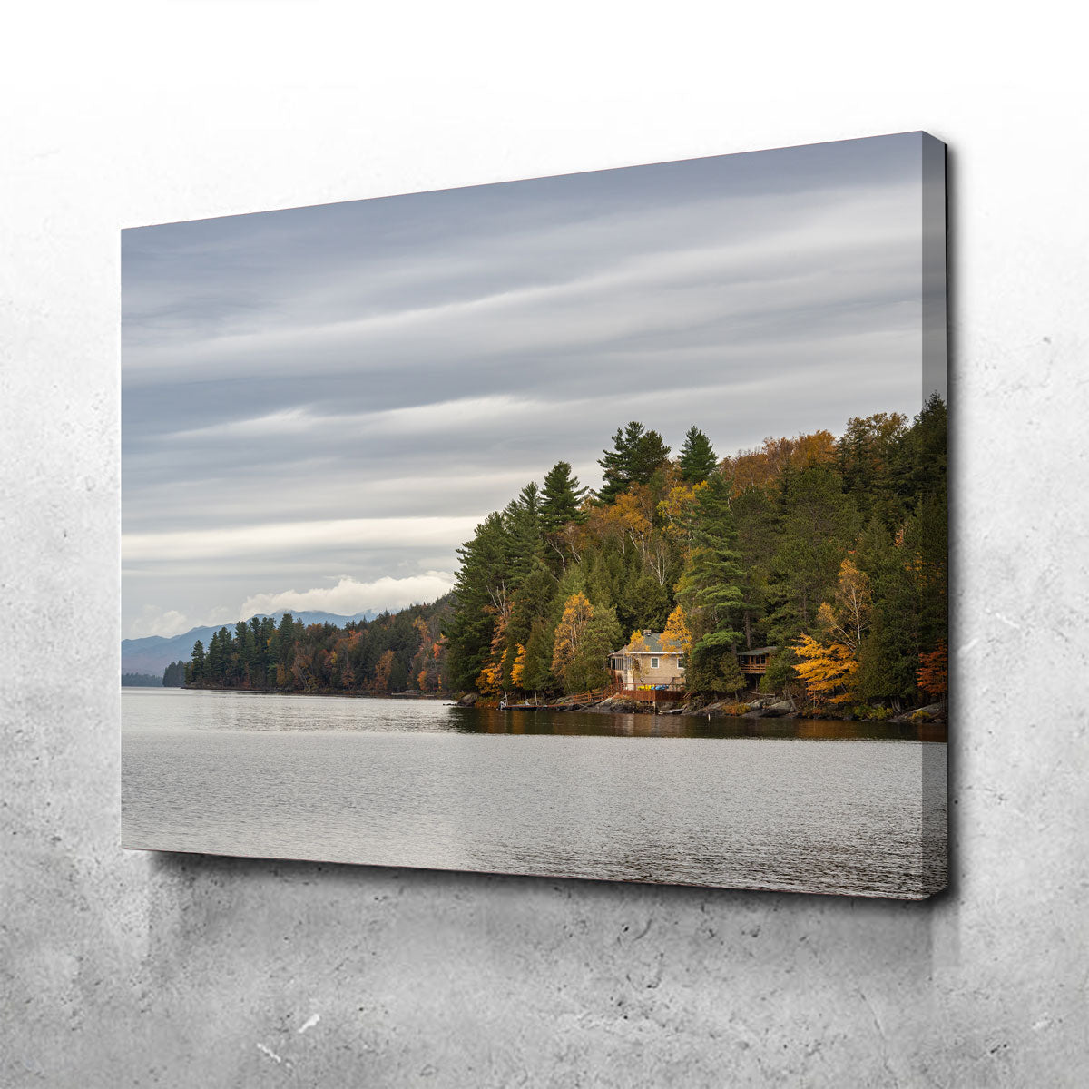 Adirondack Cottage Canvas Set