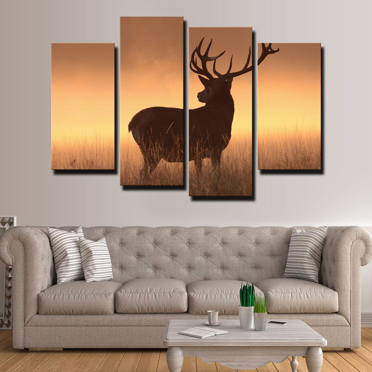 Majestic Deer Canvas Set
