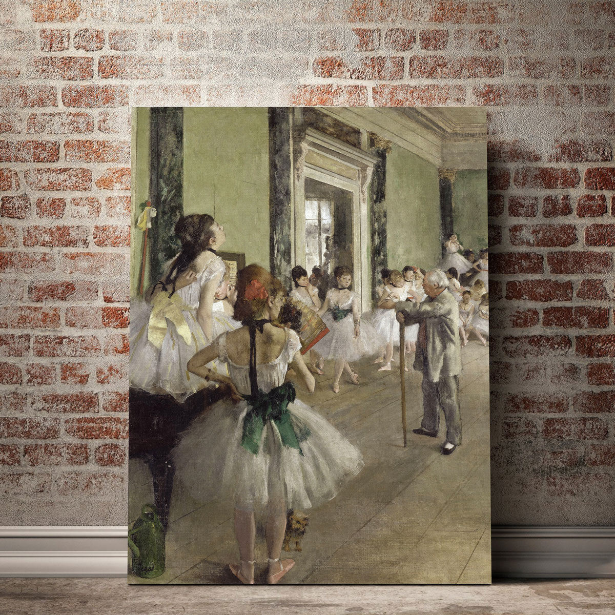 The Ballet Class Canvas Set