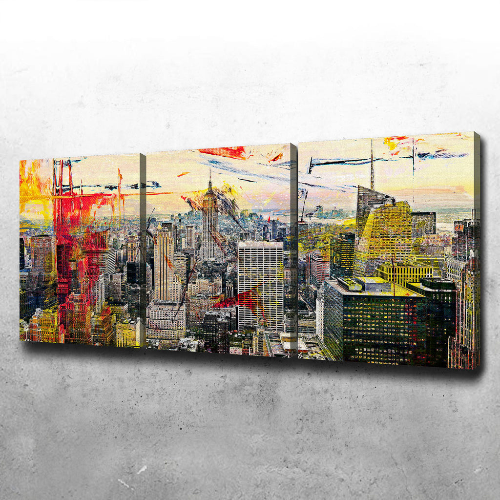 Empire State Canvas Set