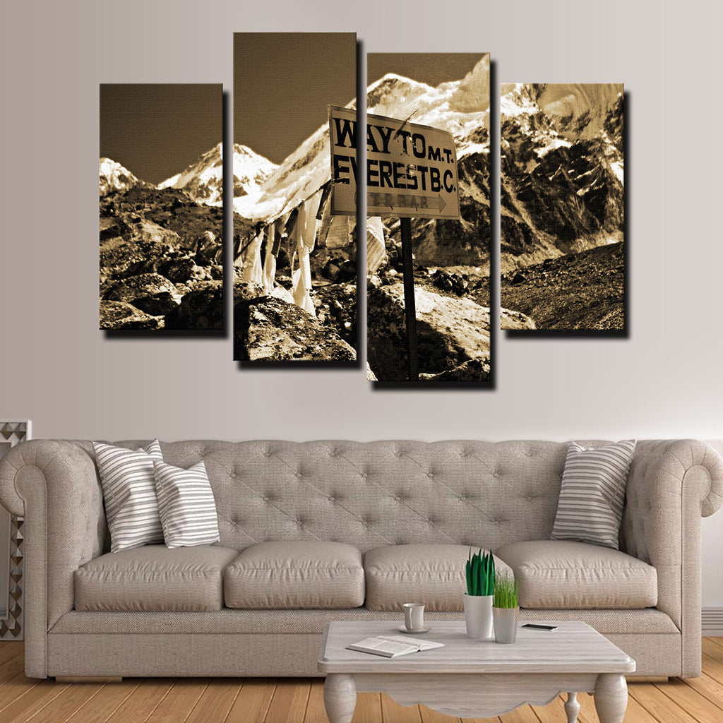 Everest Base Camp Canvas Set