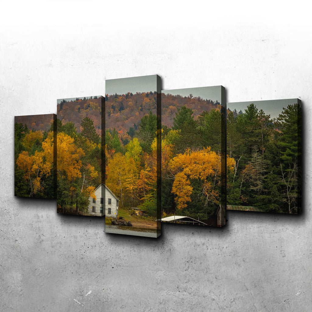 Fall in the Adirondacks Canvas Set