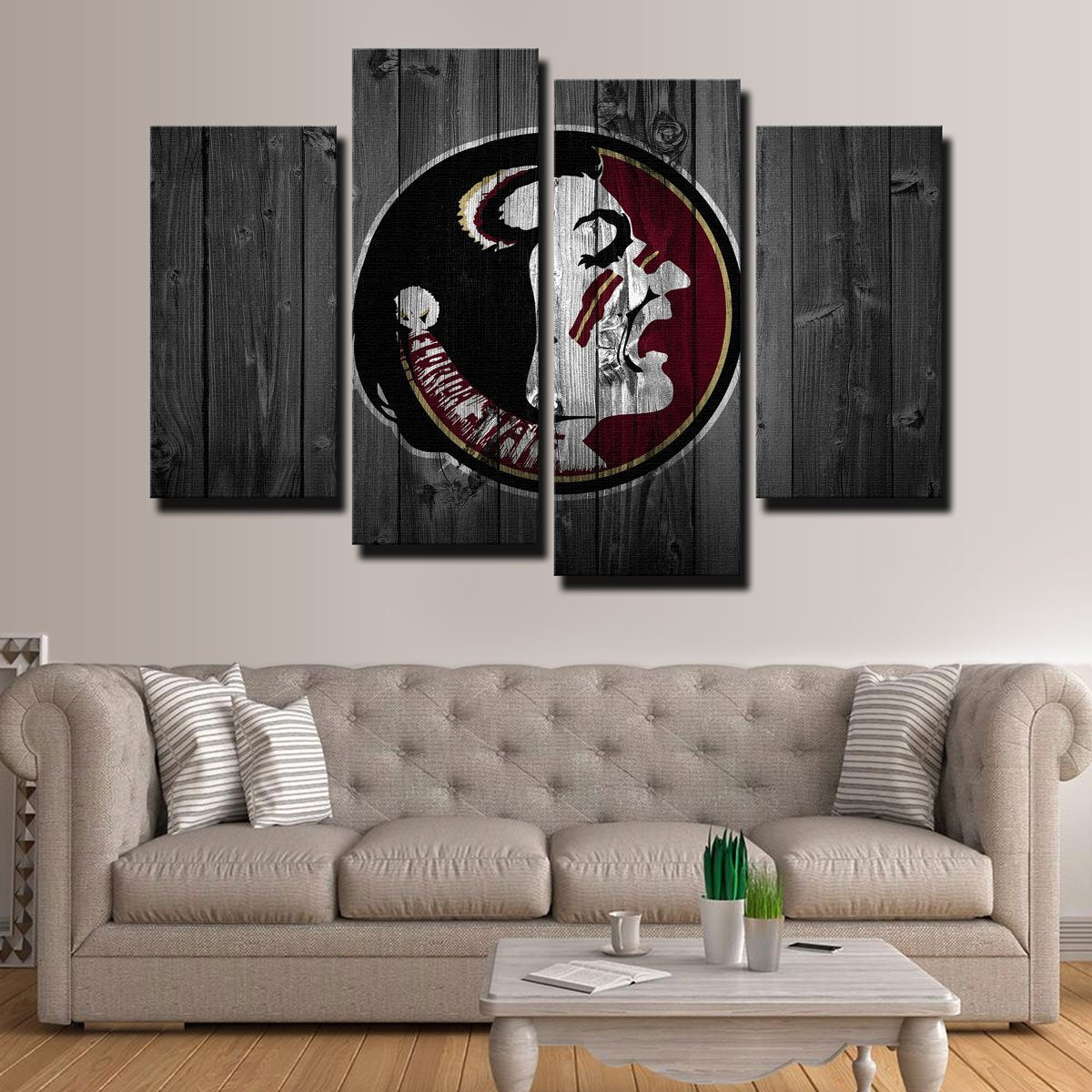 Florida State Canvas Set