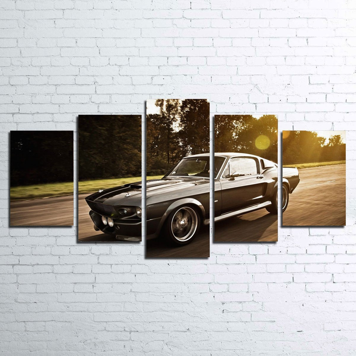 1967 Mustang Shelby GT500 Eleanor 5 Piece Canvas Set