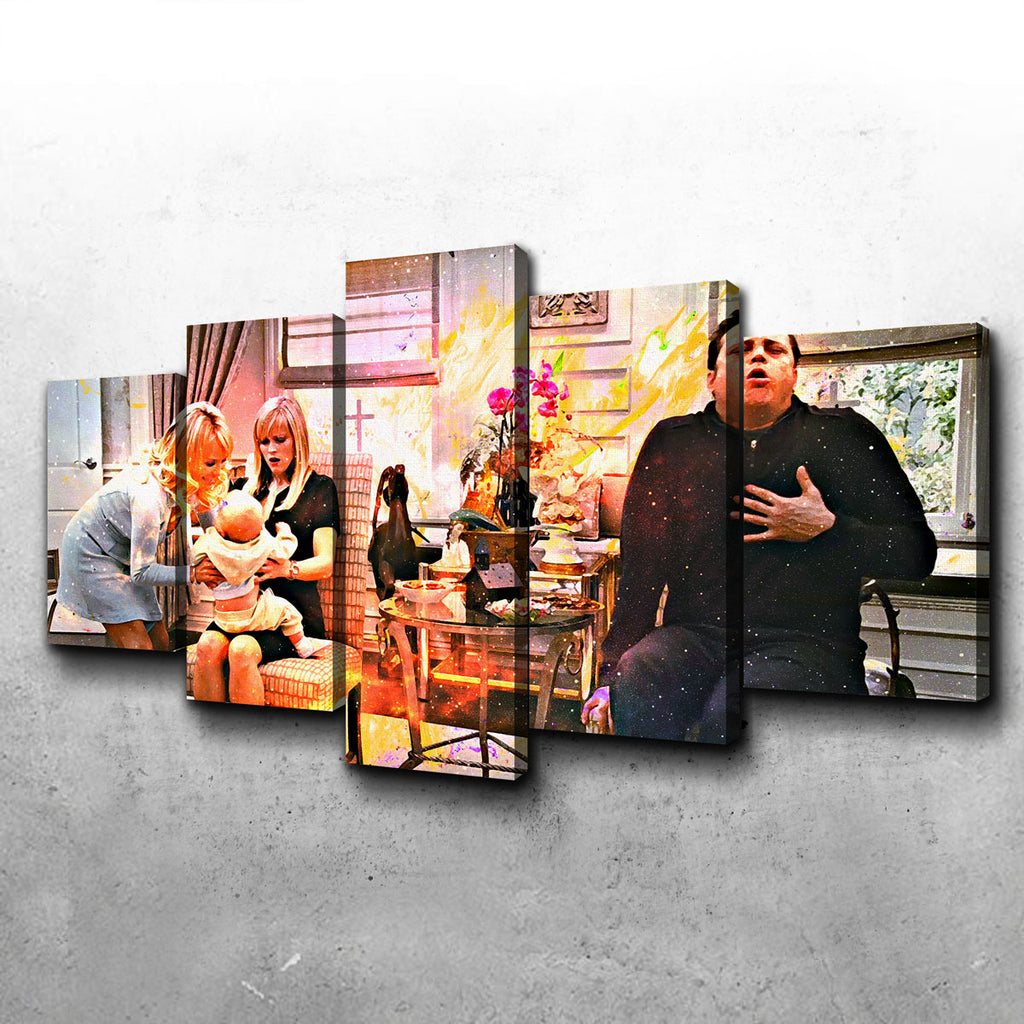 Four Christmases Canvas Set