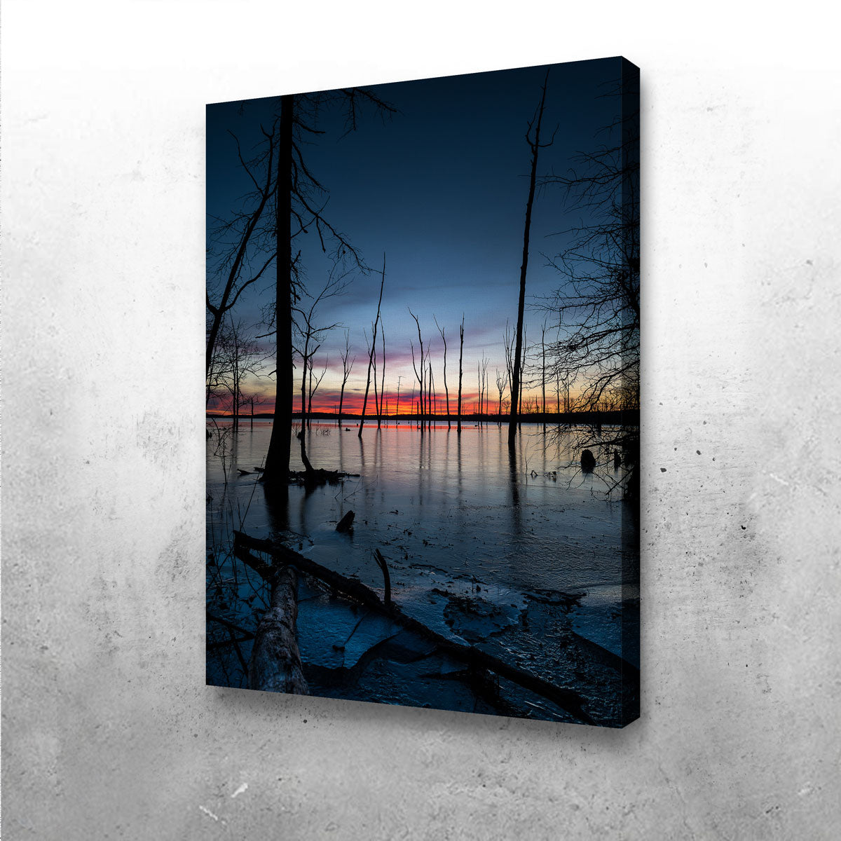Frozen Sunset Canvas Set