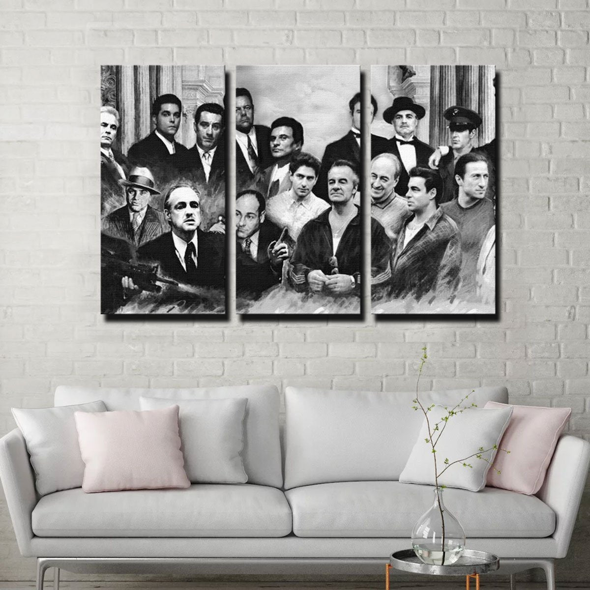Gangsters Canvas Set