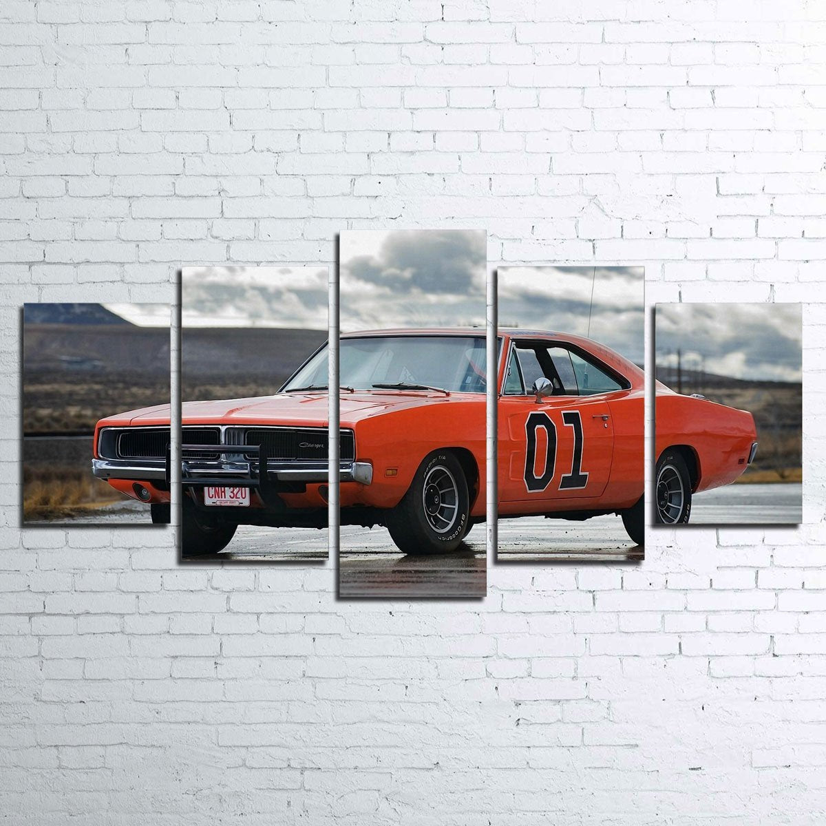 General Lee 5pc Canvas Set
