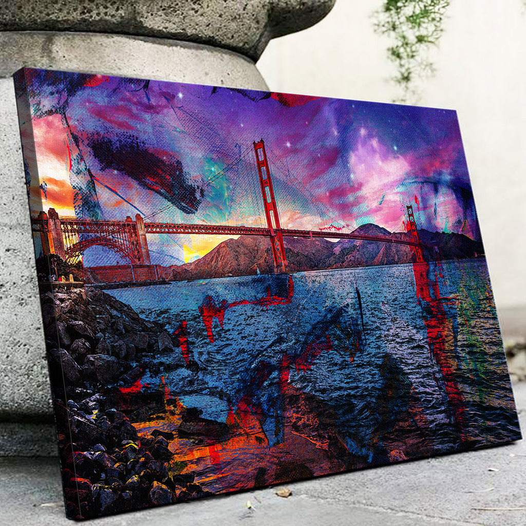 Golden Gate Canvas Set