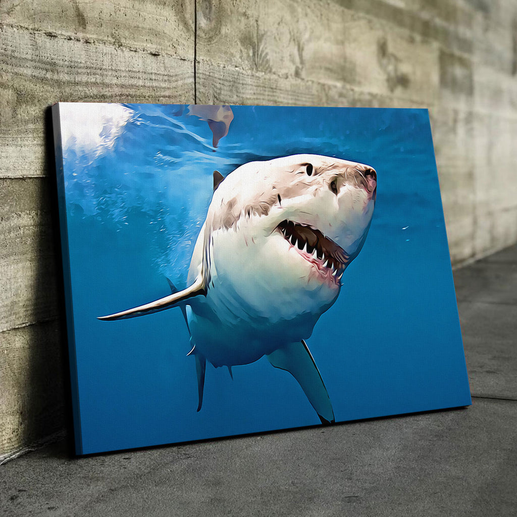 Great White Shark Canvas Set