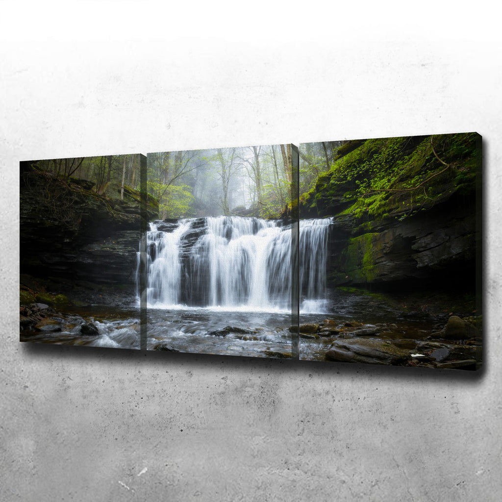 Green Serenity Canvas Set