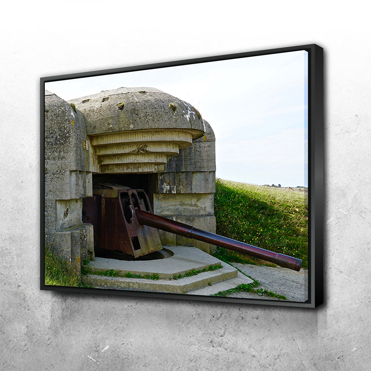 Gun Battery Normandy Beachhead