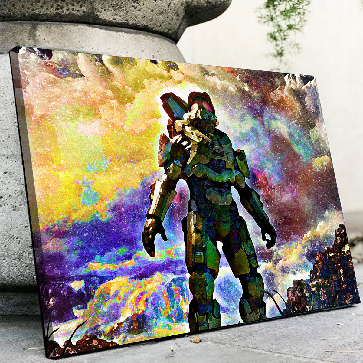 Halo Canvas Set