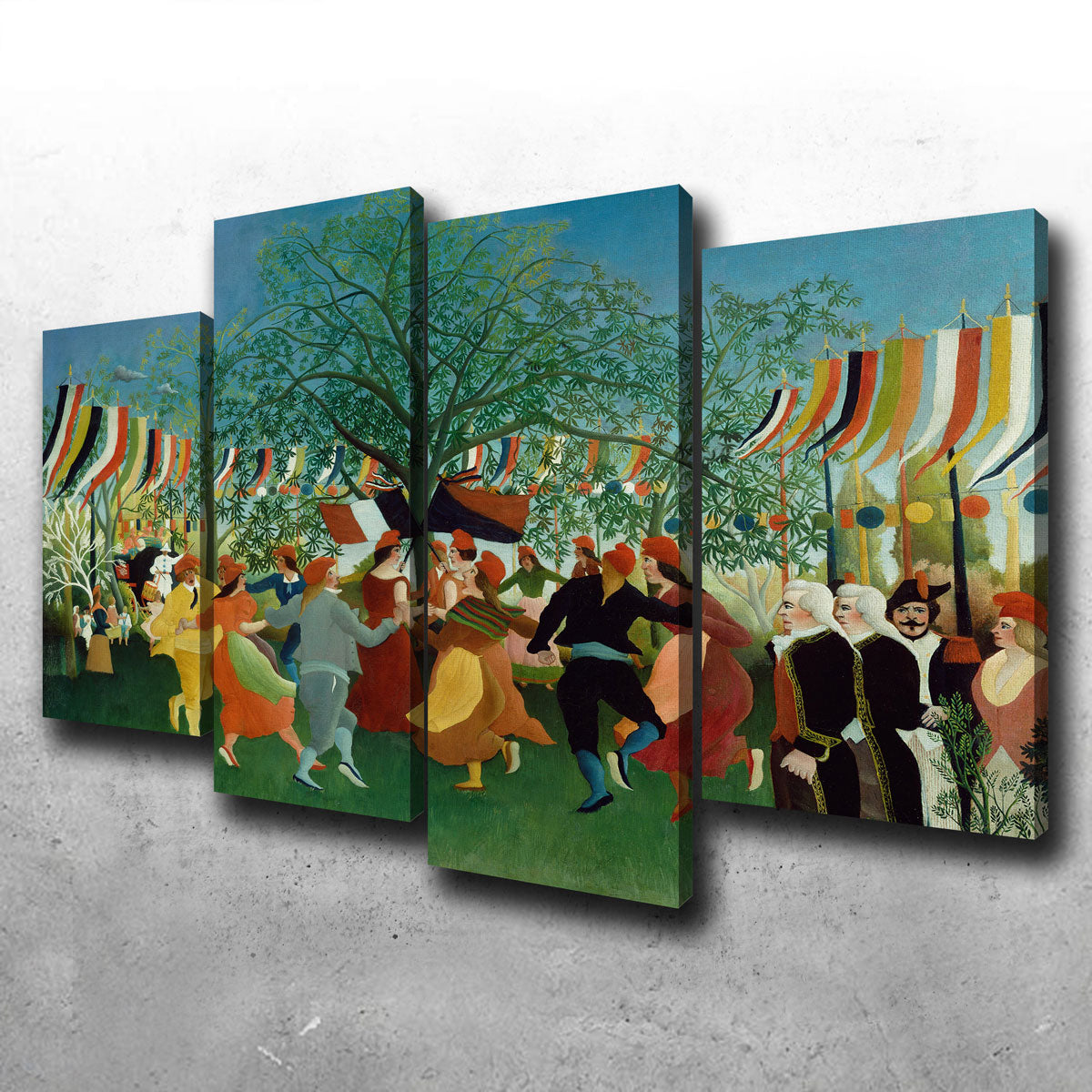 A Centennial of Independence Canvas Set