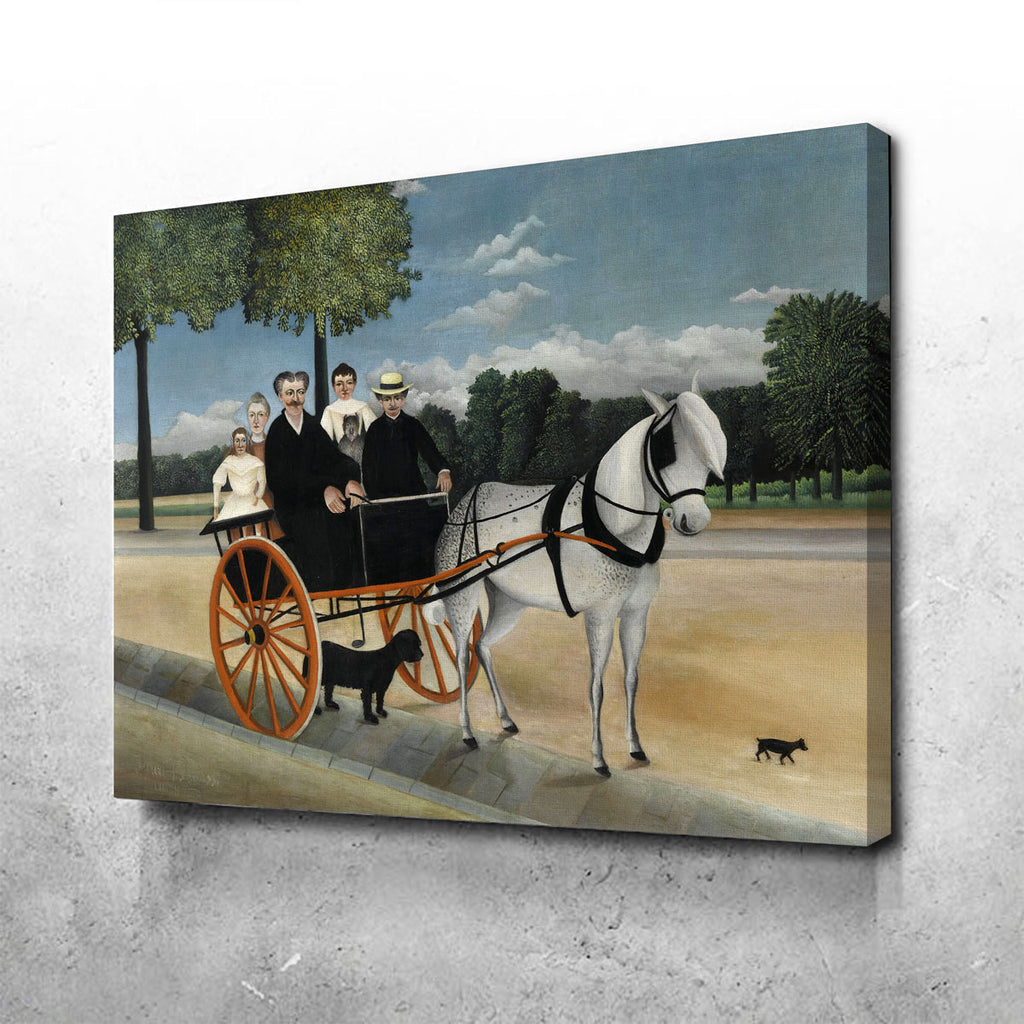 La Carriole du père Junier Canvas Set
