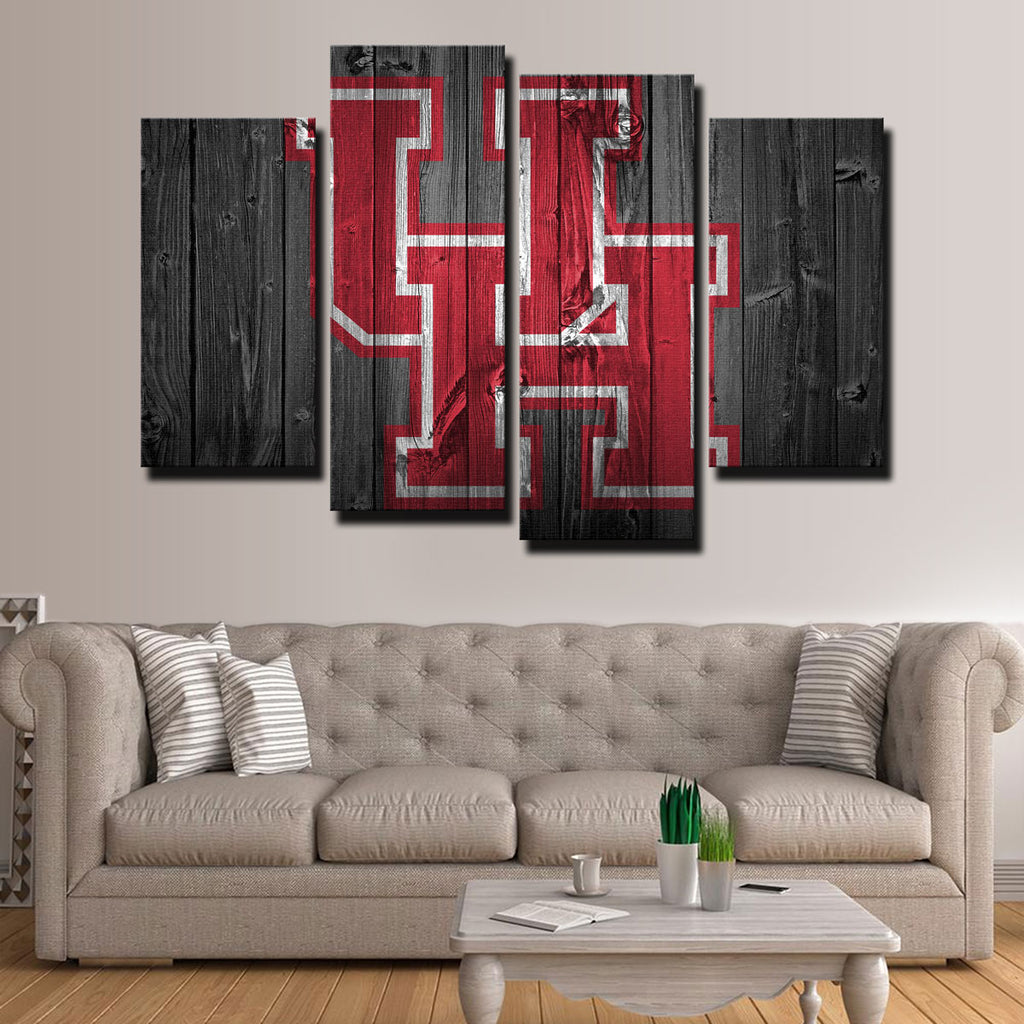 Houston Cougars Canvas Set