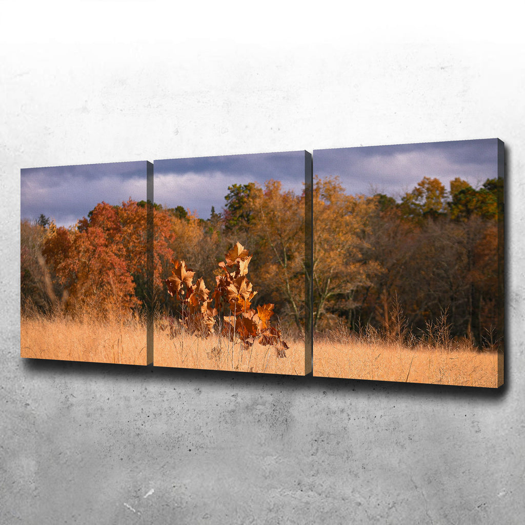 Jersey Leaves Canvas Set