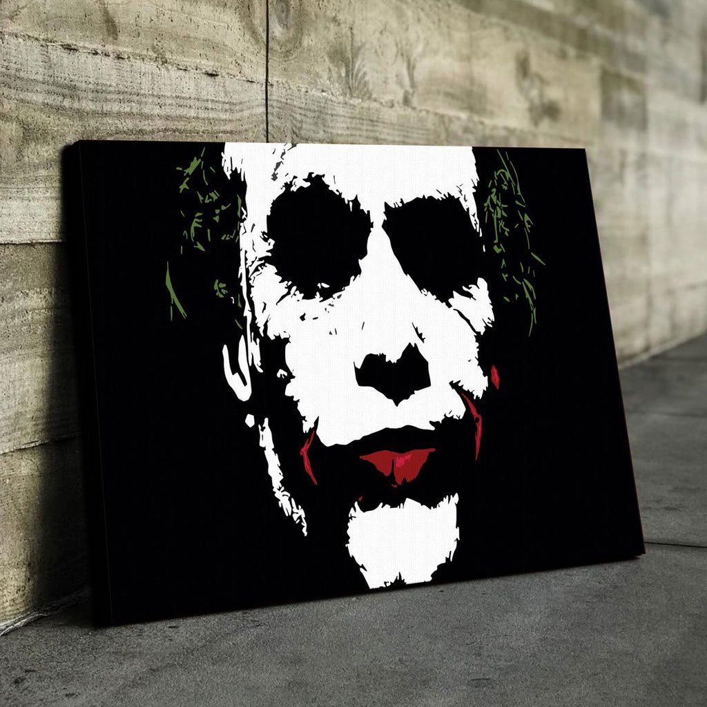 Joker Splatter Canvas Set