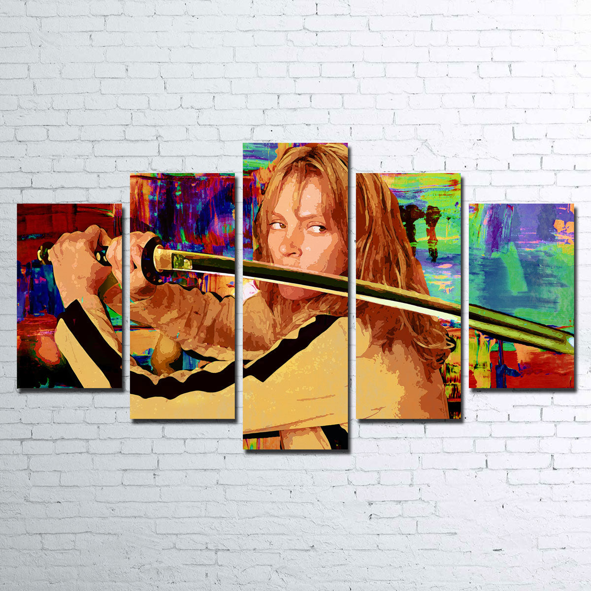 Kill Bill Canvas Set