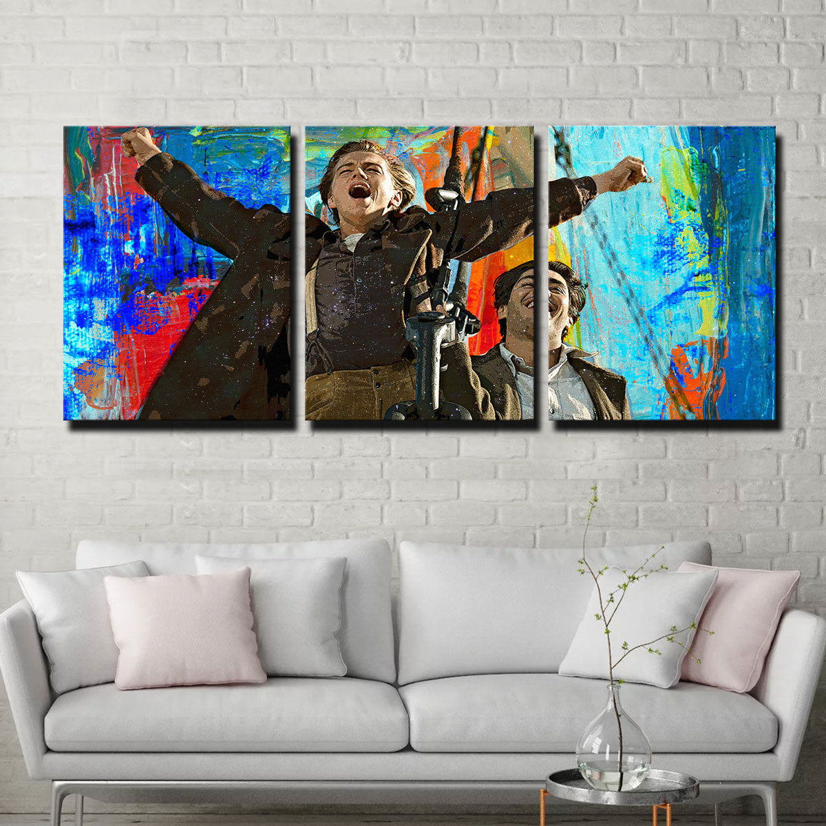 King of the World Canvas Set
