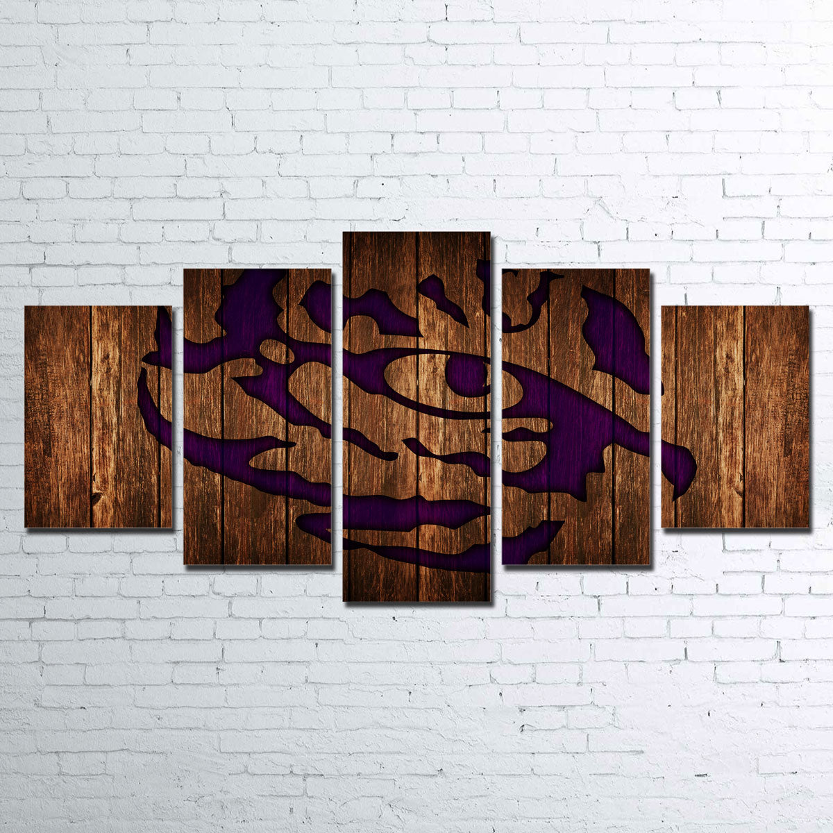 LSU Canvas Set