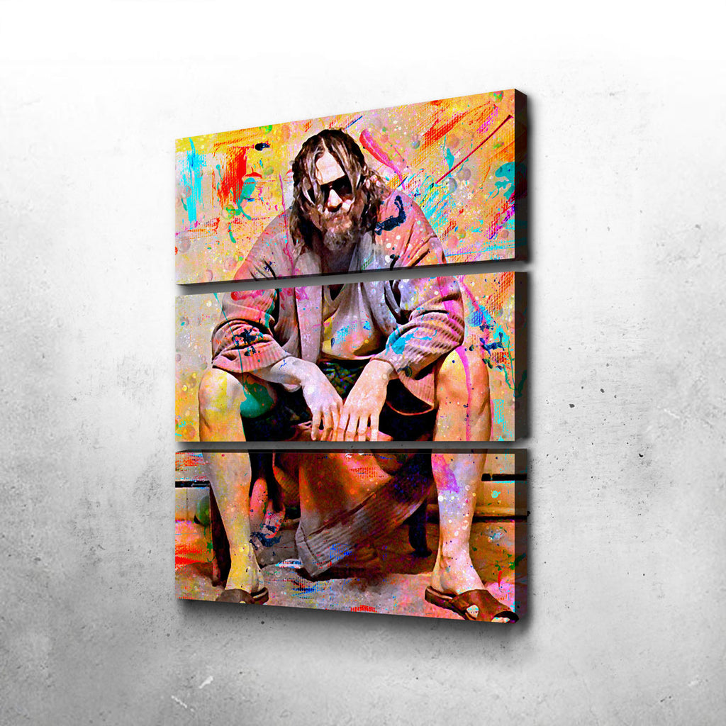 Lebowski Toilet Canvas Set