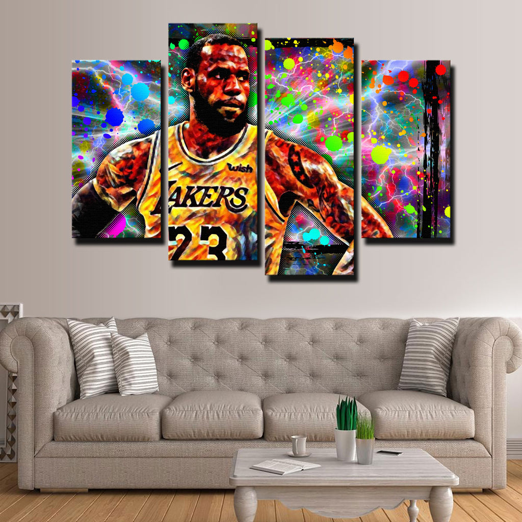 Abstract LeBron Canvas Set