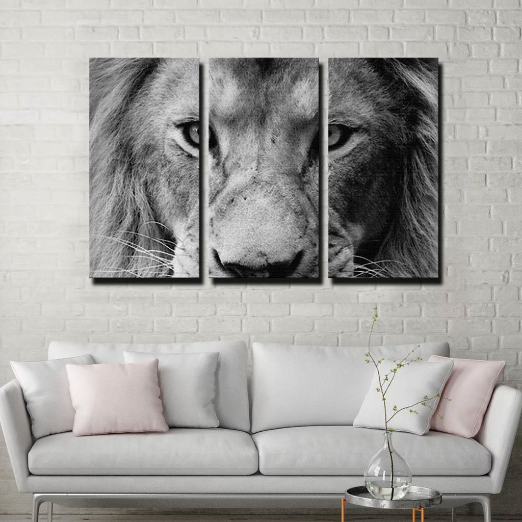Lion Canvas Set