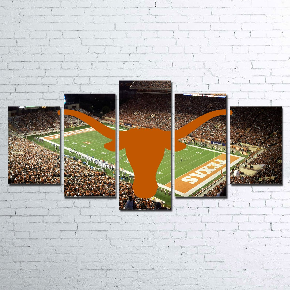 Texas Longhorns 5pc Canvas Set