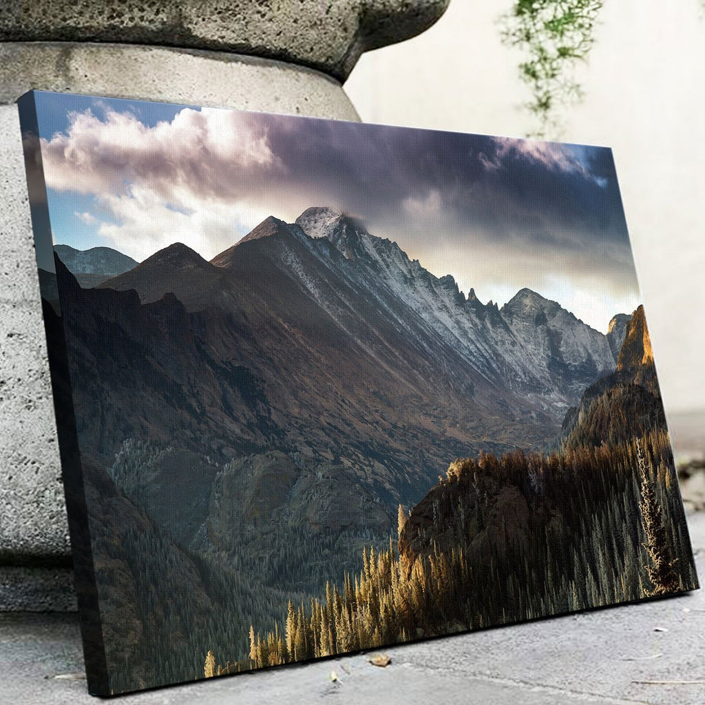 Longs Peak Canvas Set